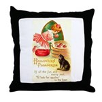 Apple Bobbing Throw Pillow