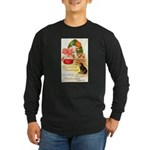 Apple Bobbing Long Sleeve Dark T-Shirt