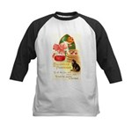 Apple Bobbing Kids Baseball Jersey