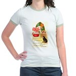 Apple Bobbing Jr. Ringer T-Shirt