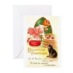Apple Bobbing Greeting Cards (Pk of 10)