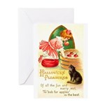 Apple Bobbing Greeting Card