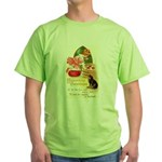 Apple Bobbing Green T-Shirt
