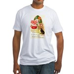 Apple Bobbing Fitted T-Shirt