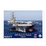 USS Harry S. Truman CVN-75 Postcards (Package of 8