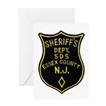 Essex County Sheriff Greeting Card