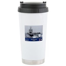USS Enterprise CVN-65 Ceramic Travel Mug