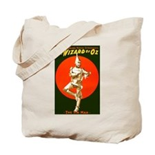Vintage Wizard of Oz Tin Man Tote Bag