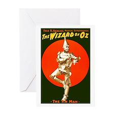 Vintage Wizard of Oz Tin Man Greeting Card