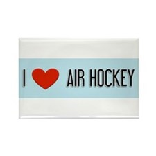Air Hockey Gift Rectangle Magnet