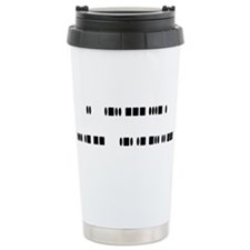 """I love ham radio"" Ceramic Travel Mug"