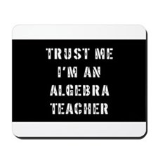 Algebra Teacher Gift Mousepad