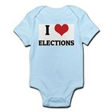 I Love Elections Infant Creeper