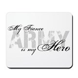 Fiance is my Hero ARMY Mousepad