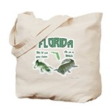 Florida Tourist Tote Bag