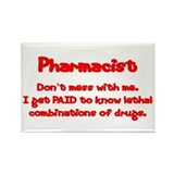 Pharmacy Rectangular Magnet