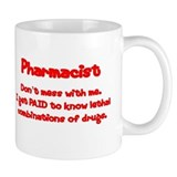 Pharmacy technicians Mugs