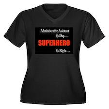 Superhero Administrative Assistant Gift Women's Pl
