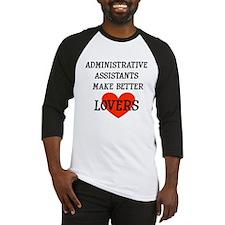 Administrative Assistants Baseball Jersey
