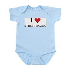 I Love Street Racing Infant Creeper