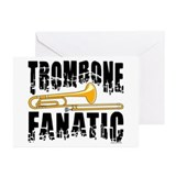 Trombone Fanatic Greeting Cards (Pk of 20)