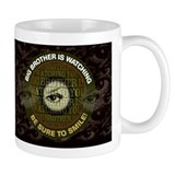 Big Brother is Watching You Brown Tasse