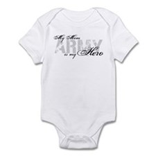 Mom is my Hero ARMY Infant Bodysuit