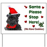 Affenpinscher Christmas Yard Sign