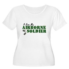 I Love My Airborne Soldier T-Shirt