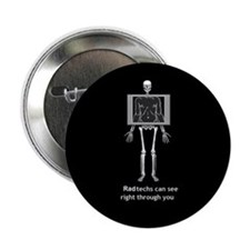 "Cool X ray tech 2.25"" Button"
