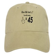 Cute 45th birthday Baseball Cap