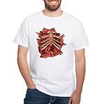 Halloween Zombie Gore White T-Shirt