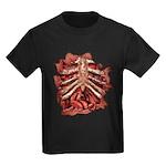 Halloween Zombie Gore Kids Dark T-Shirt
