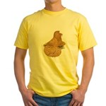 English Trumpeter Deroy Yellow T-Shirt
