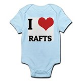I Love Rafts Infant Creeper