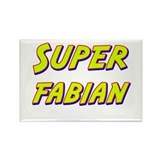 Super fabian Rectangle Magnet