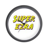 Super ezra Wall Clock