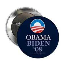 """Obama-Biden 08"" 2.25"" Button (10)"
