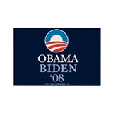 &amp;quot;Obama-Biden 08&amp;quot; Rectangle Magnet (10)