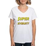 Super everett Women's V-Neck T-Shirt