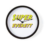 Super everett Wall Clock