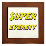 Super everett Framed Tile
