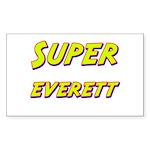 Super everett Rectangle Sticker