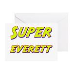 Super everett Greeting Card