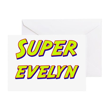 Super evelyn Greeting Card