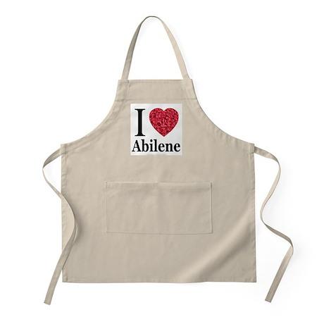I Love Abilene BBQ Apron