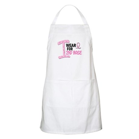 I Wear Pink For 2nd Base 21 BBQ Apron