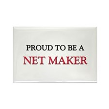 Proud to be a Net Maker Rectangle Magnet
