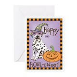 Halloween Dalmatian Greeting Cards (Pk of 10)