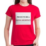 Proud to be a Naval Architect Tee